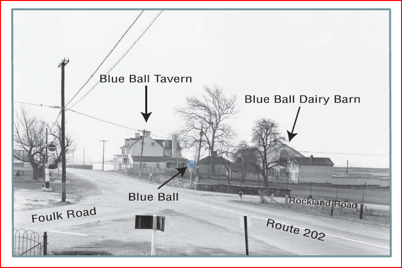 Blue Ball History
